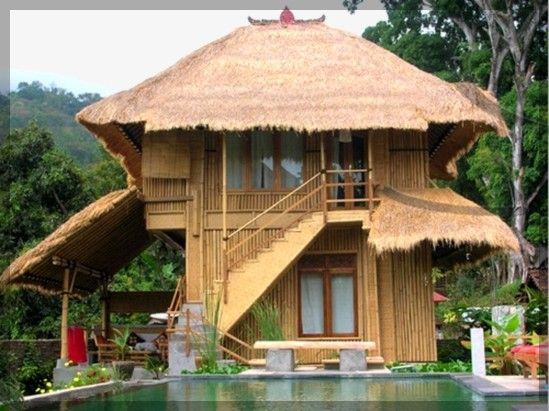 Modern Bamboo Houses Interior and Exterior Designs | Bamboo ...