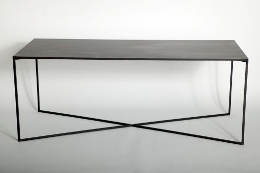Caravane Metal Dining Table Metal Table Minimal Furniture