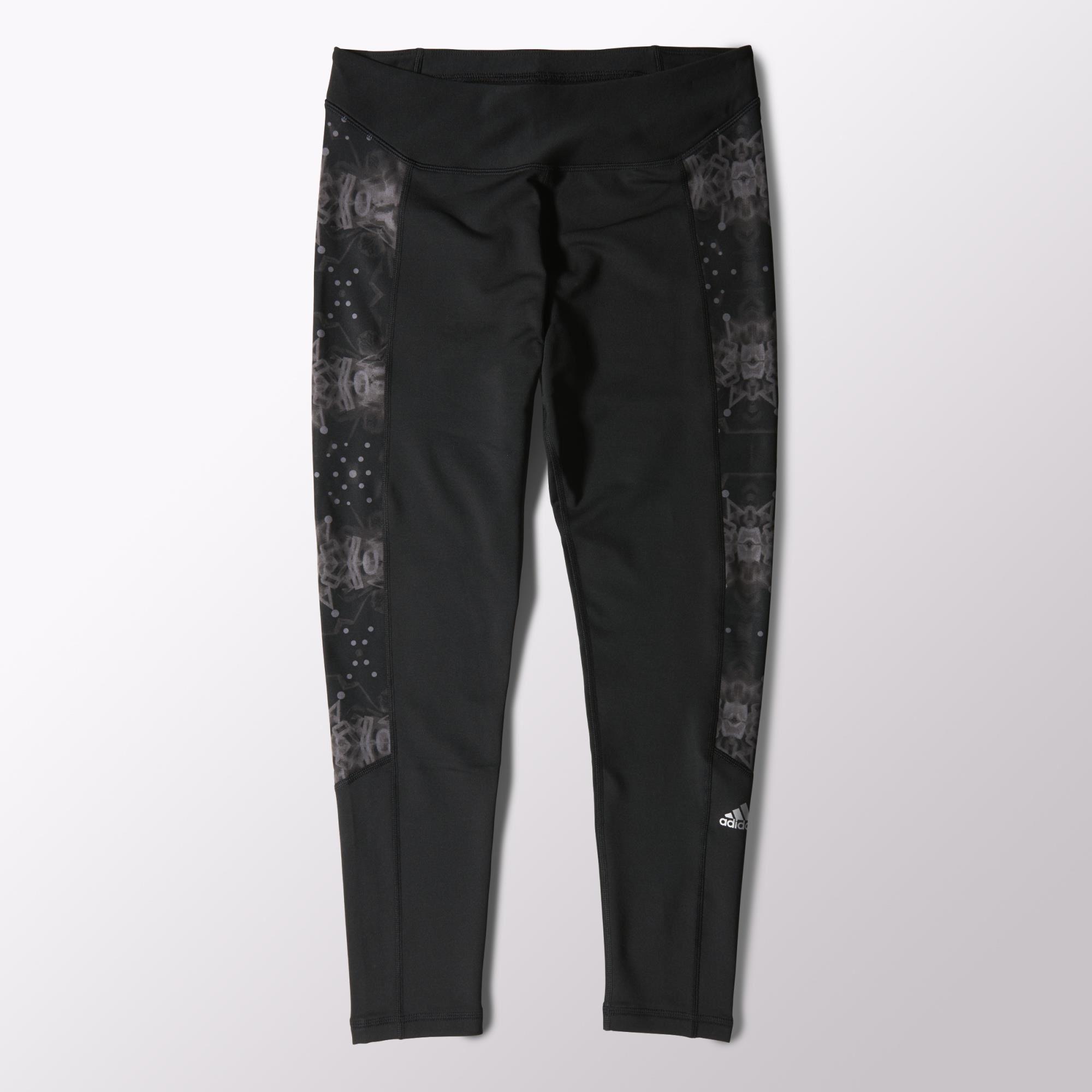 adidas - Techfit Climawarm Printed Tights