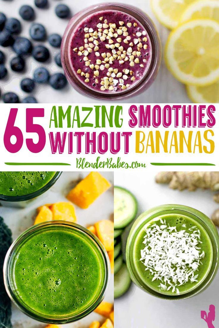 65 amazing smoothies without bananas homemade smoothies