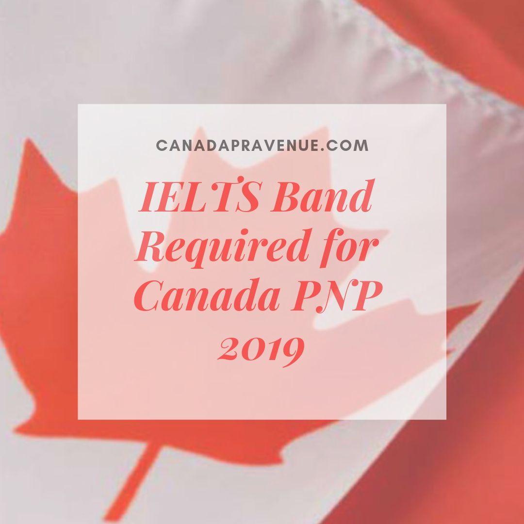 Minimum Ielts Score For Canada Pnp 2018 2019 Ielts Canada Scores