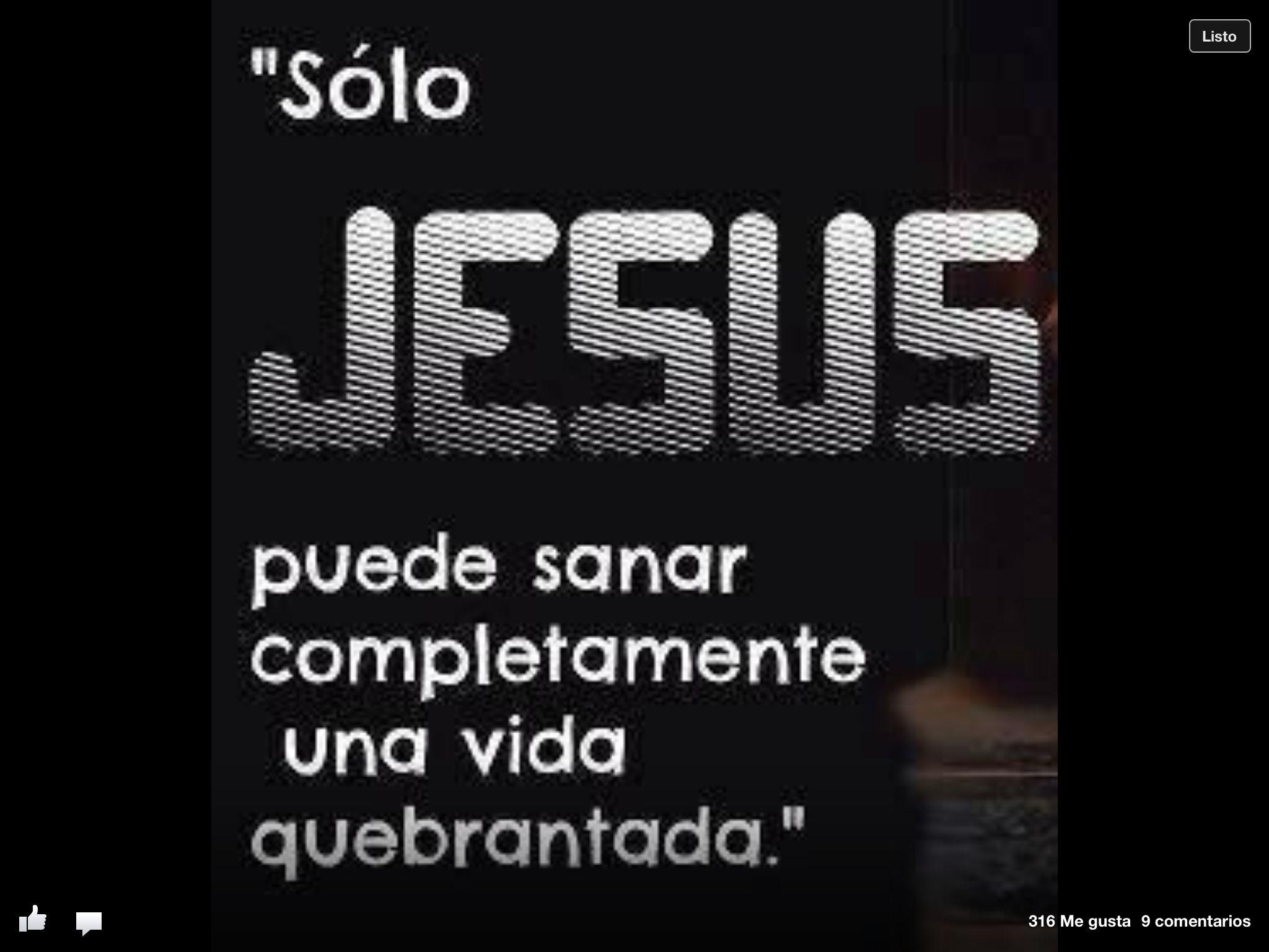 Jesús nos sana