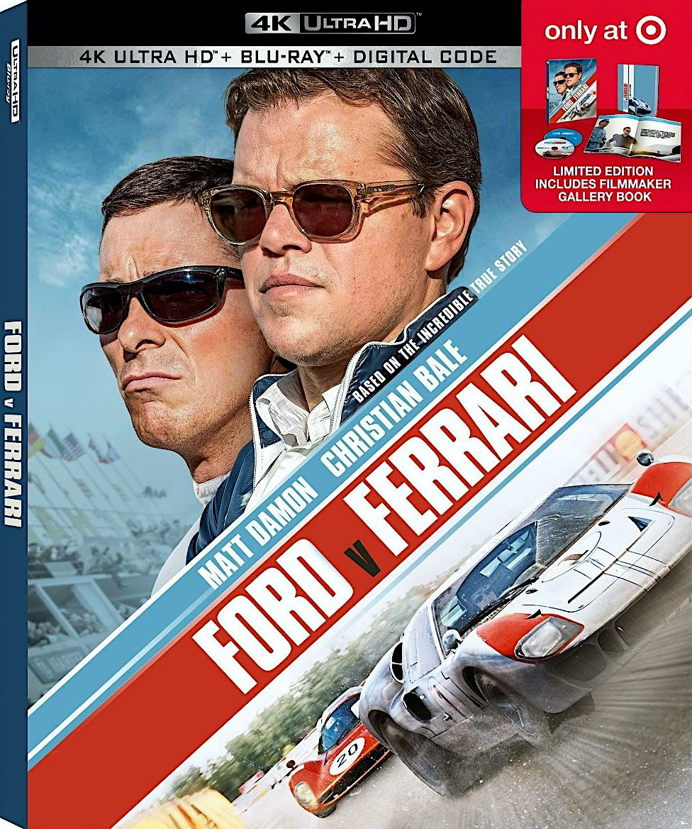 Ford V Ferrari Target Exclusive 4k Blu Ray Gallery Book 20th Century Fox Disney In 2020 Ford The Incredible True Story Ferrari