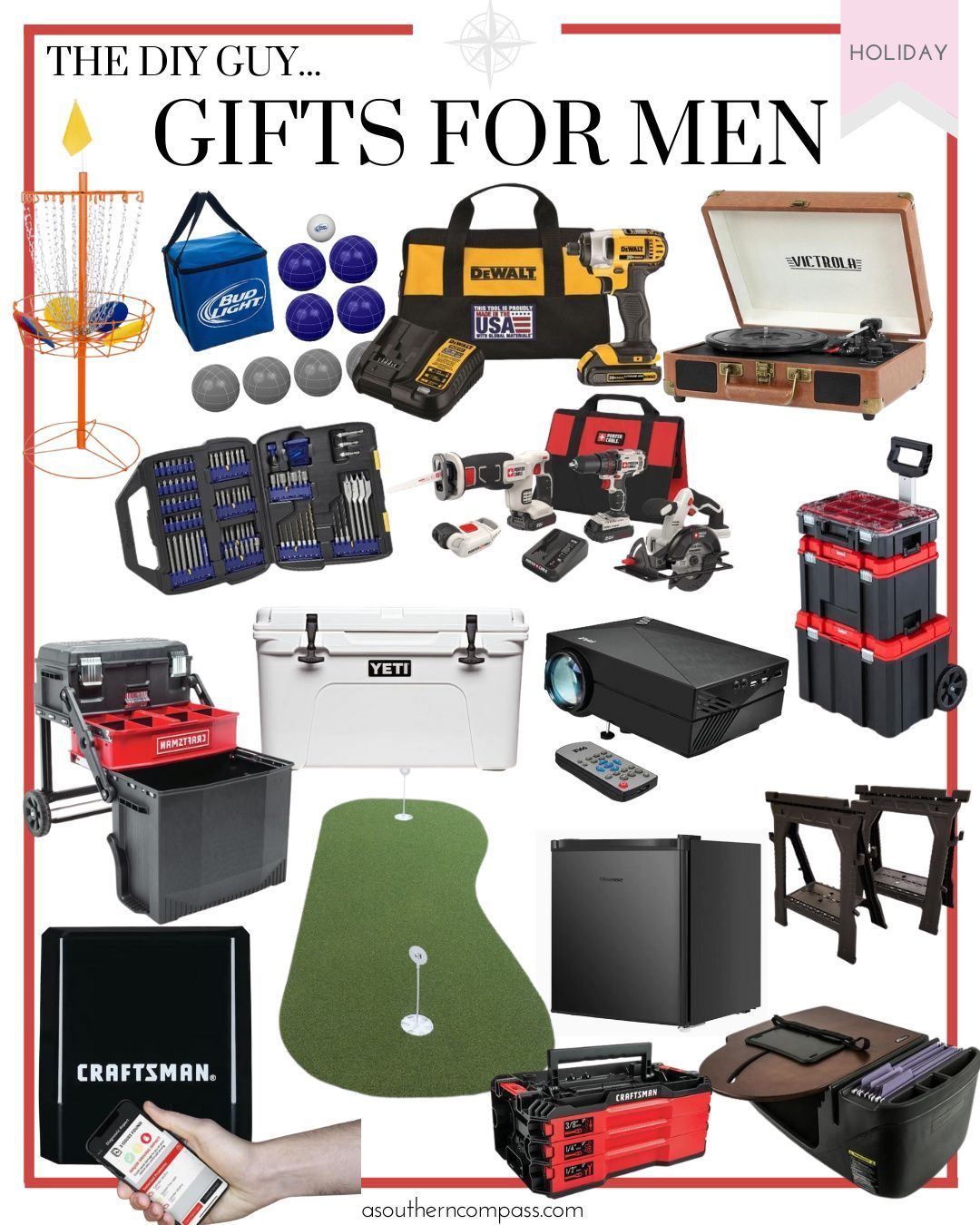 Gifts For Men A Southern Compass Mens Gift Guide Gifts For Men Gifts