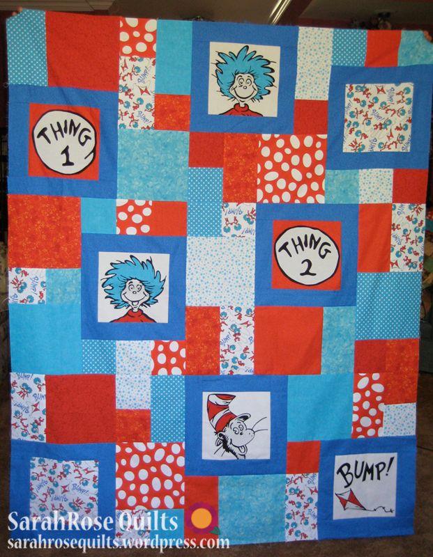 Scrappy Block Quilt – Tutorial – Part 1   Fat quarters, Cuttings ... : dr suess quilt - Adamdwight.com