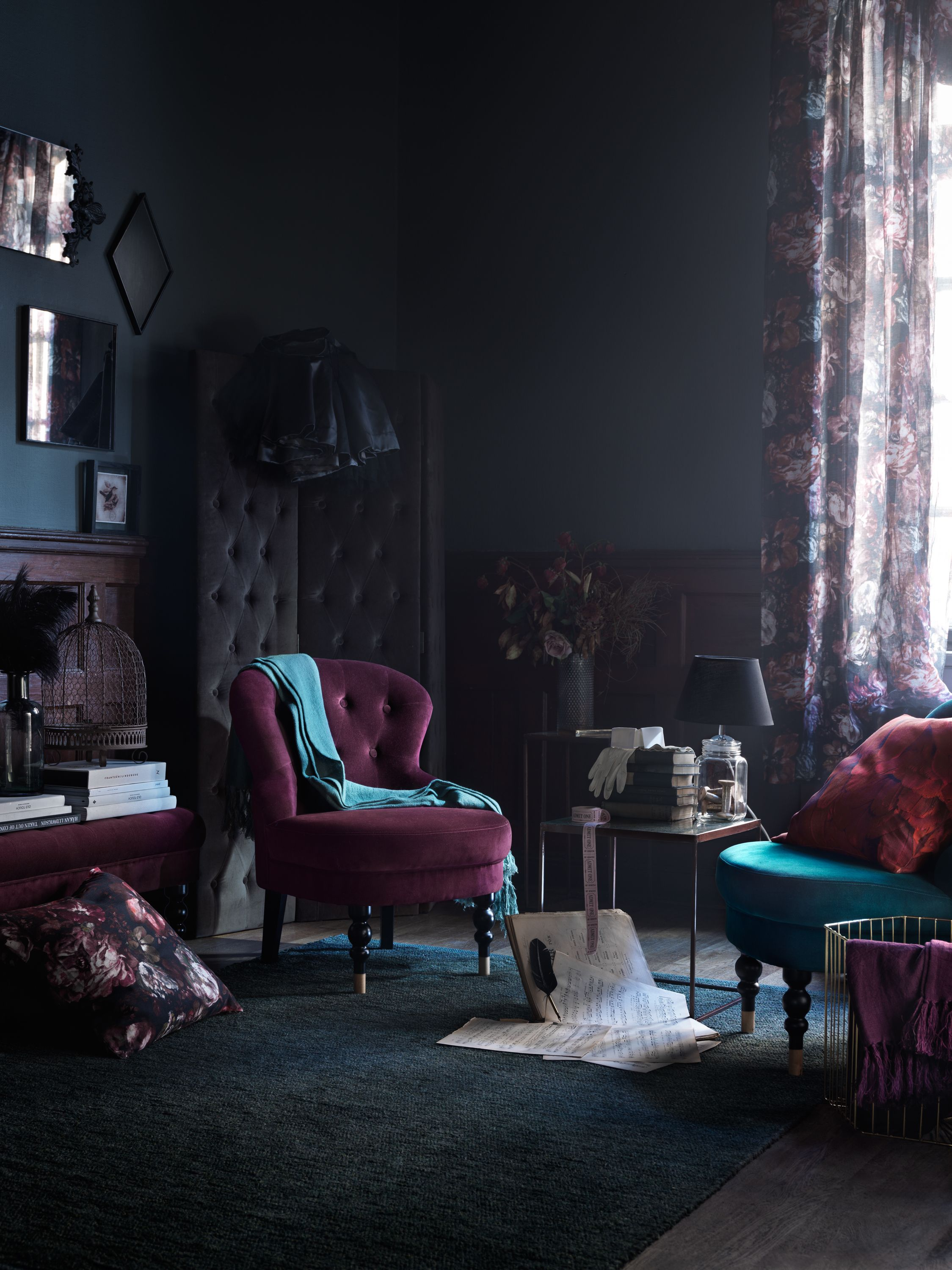 Fashioned Living Room Furniture: Foto: Marcus Lawett, Styling: Hans Blomquist #inredning