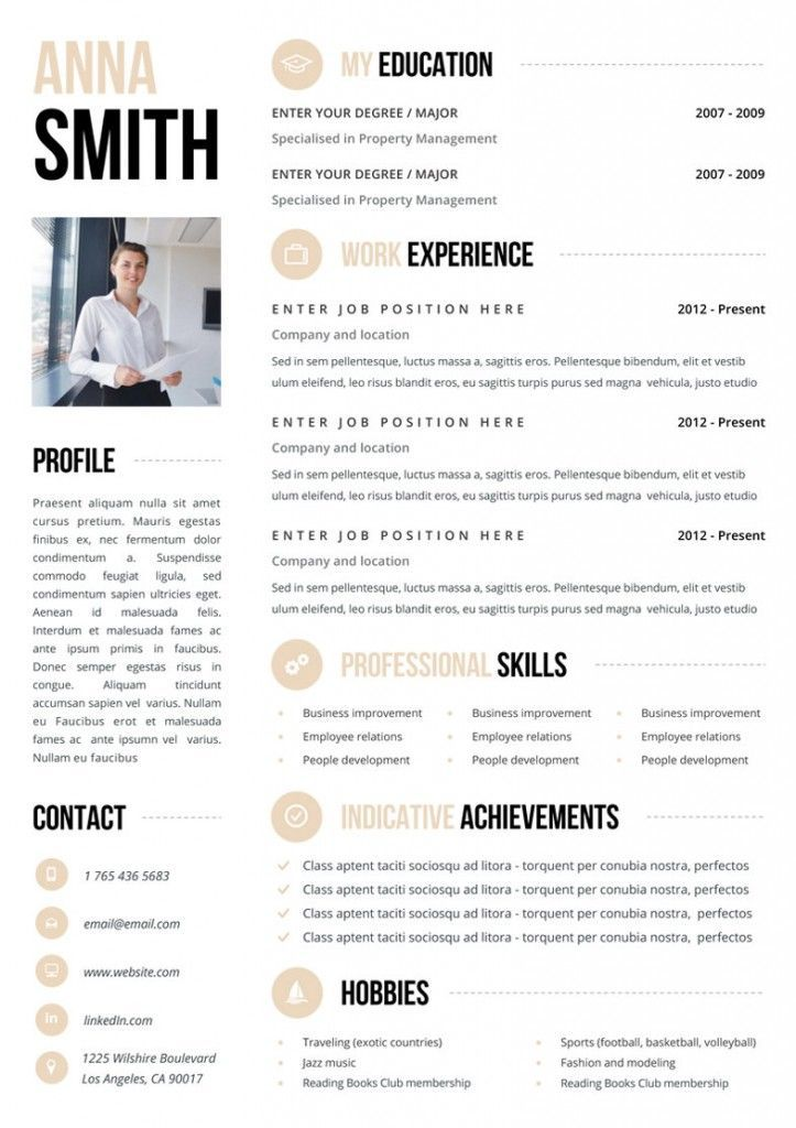 Killer CV Templates From Etsy life hacks Cv template, Resume