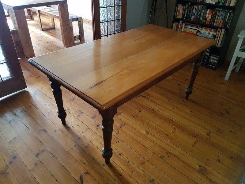 Antique Yellow Wood Stinkwood Table Mowbray Gumtree