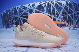 faff9cb4e14 Nike LeBron Witness III Light Orewood Brown Desert Sand Medium Soft  Pink White AO4433-100 Men s Sneaker Basketball Shoes
