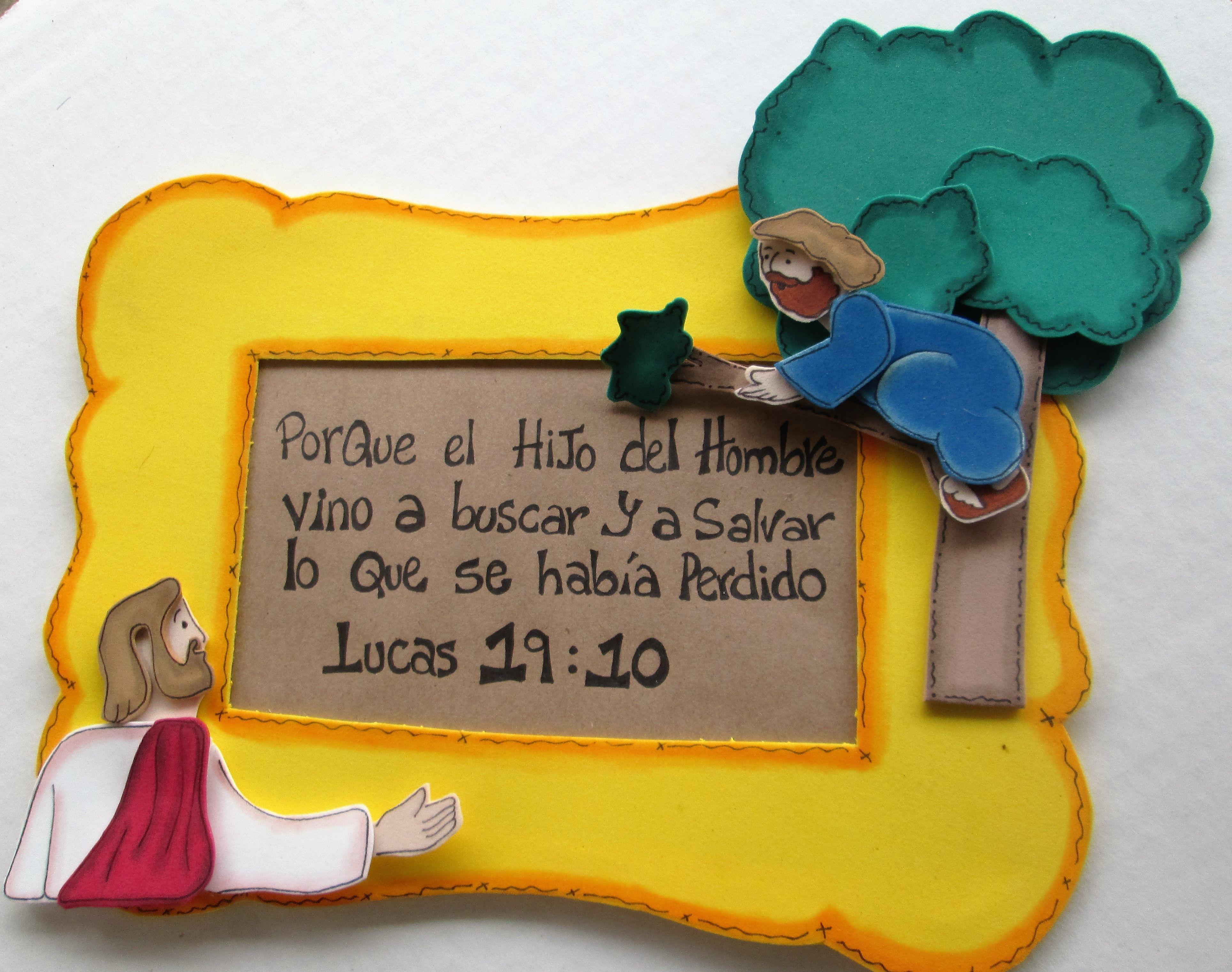 Historia De Zaqueo Y Jesus Para Los Ninos Pinterest