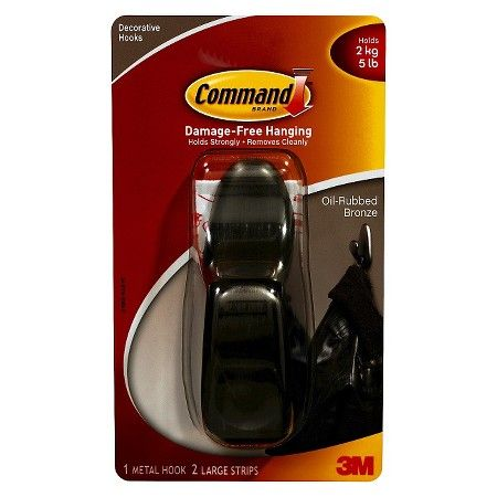 3m Command Hook Metal Lg Target Apartment Love Pinterest