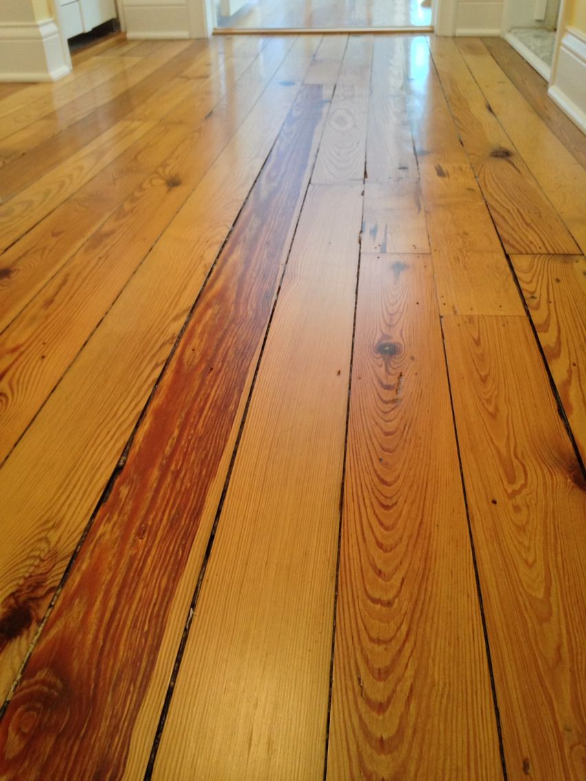 Refinished Douglas Fir Flooring Circa