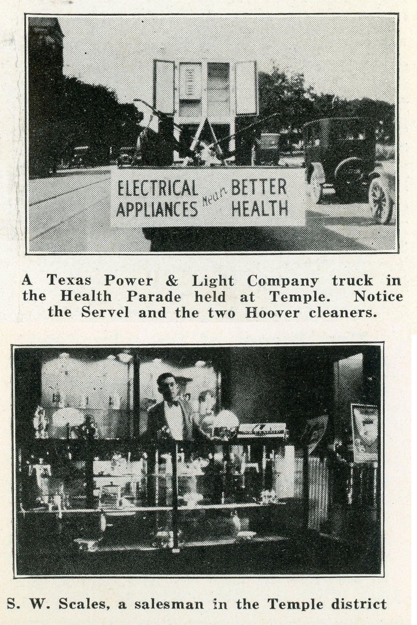 August September 1927 Texas Utility News Lighting Companies