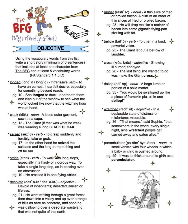 Worksheets Bfg Worksheets the bfg bookmark roald dahl pinterest teacher stuff and bookmark