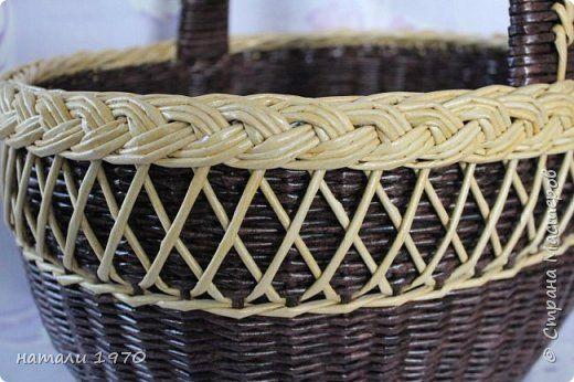 Поделка изделие Плетение И снова я к вам   Трубочки бумажные фото 1