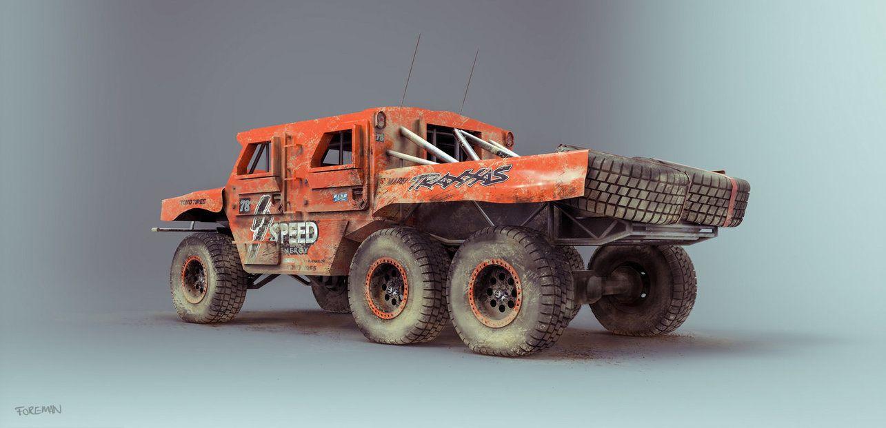 RG33 Trophy Truck by Nick-Foreman on DeviantArt