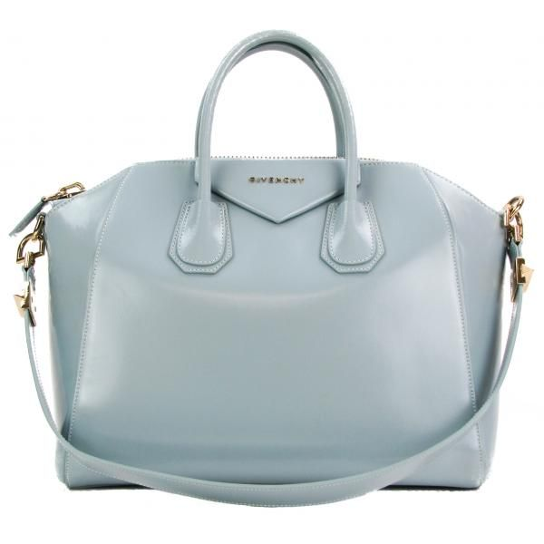 1d8b7b86cad4 Givenchy Light Blue Leather Medium Antigona Satchel Bag