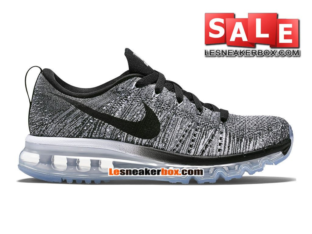 nike flyknit air max gris loup