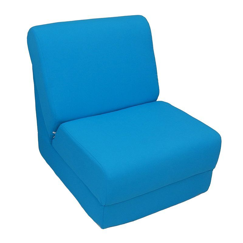 Fun Furnishings Canvas Sleeper Chair - Teen, Blue