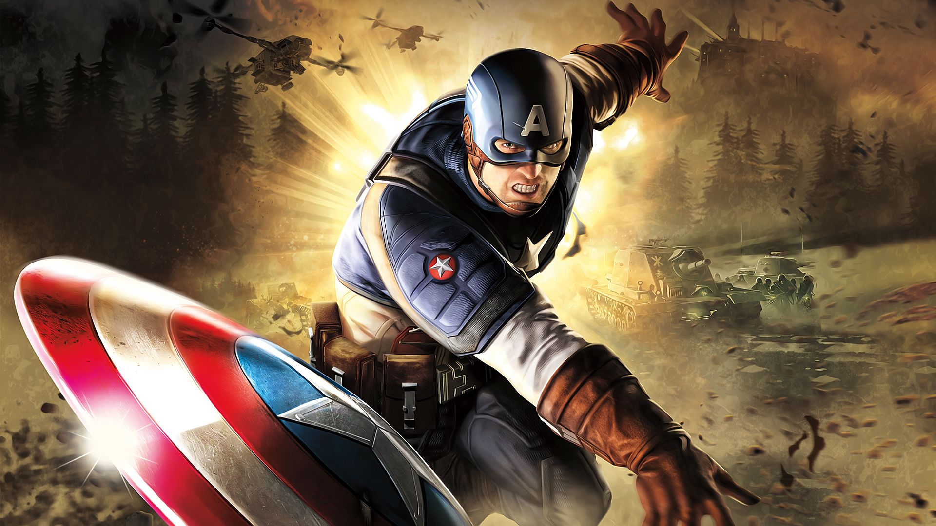 Captain America Wallpapers With Images Captain America