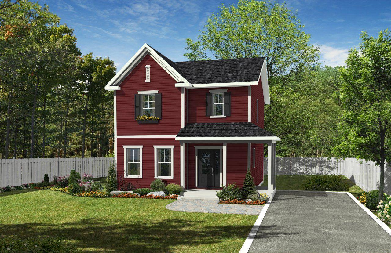 Maison Neuve Cottage Mod Le Kassandra Ext Rieur De La Maison