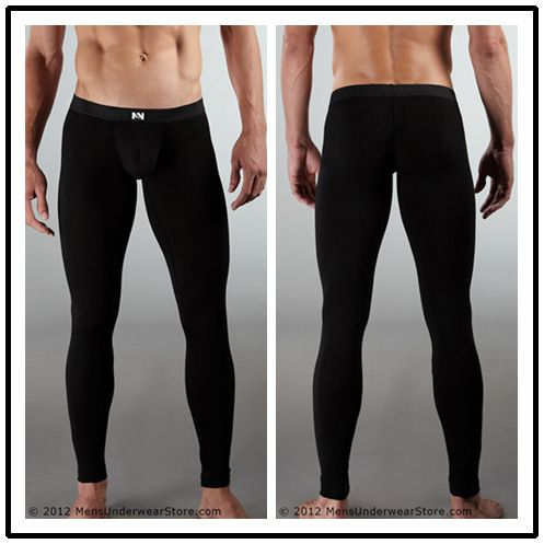 48db61a6250a men long johns male girdle pants male fashion cotton lycra long johns for  hot&sexy mens bodysuit underpants legging tight