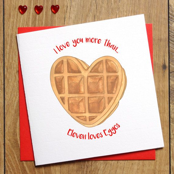 I Love You More Than Eleven Loves Waffles Stranger Things Fan Mug Valentines Present For Stranger Things Fan Birthday Anniversary Gift For Husband Wife Boyfriend Girlfriend
