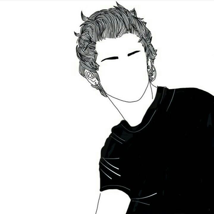 Tumblr outline boy. Tumblr SketchesHipster ...