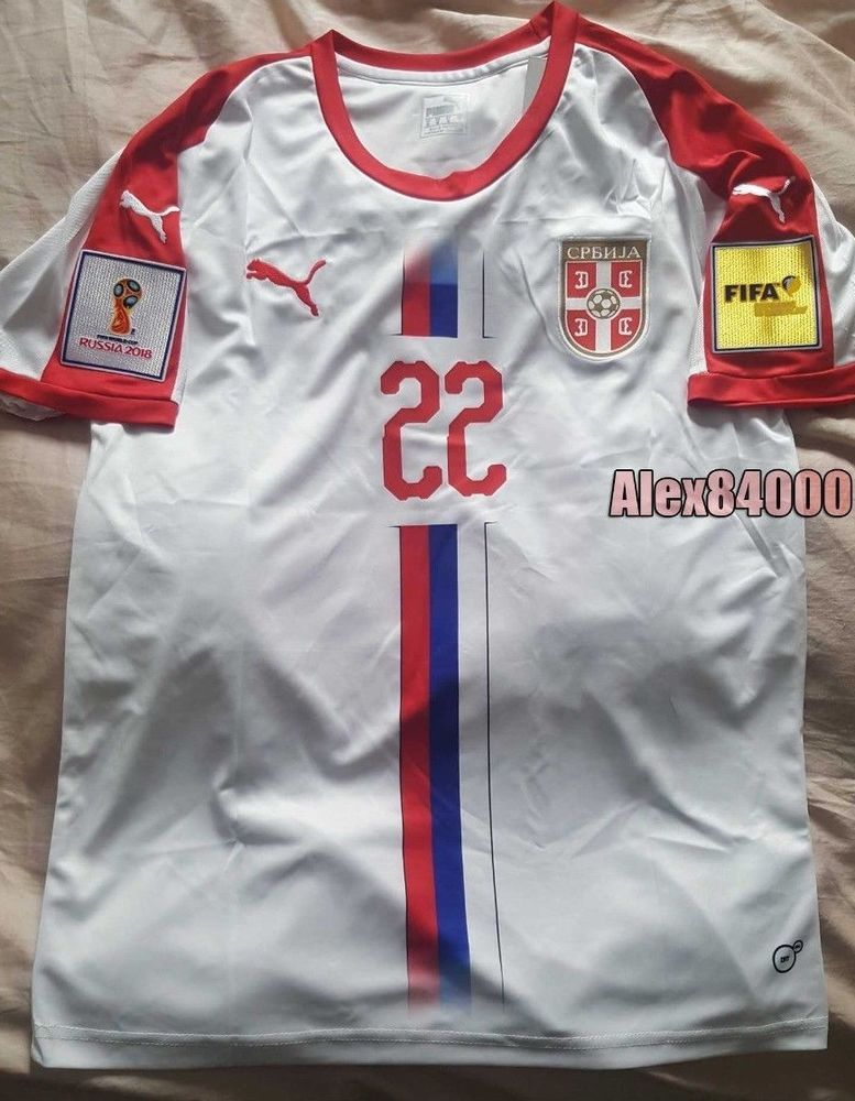 Serbia Jersey Soccer WORLD CUP 2018 HOME Away SHIRT ADULT SIZES Football  BNWT  Puma   f969c5caa