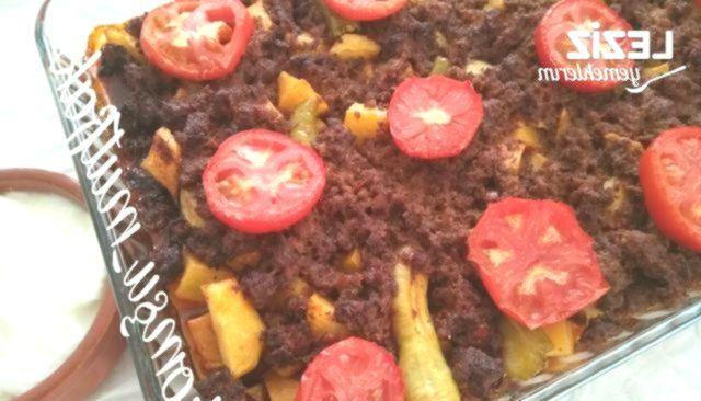 Potato And Eggplant Moussaka - My Delicious Food -