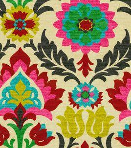 Home Decor Print Fabric Waverly Santa Maria Desert Flower