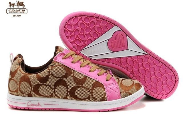 Pretty And Pink Coach Shoes, Who Needs A Handbag With