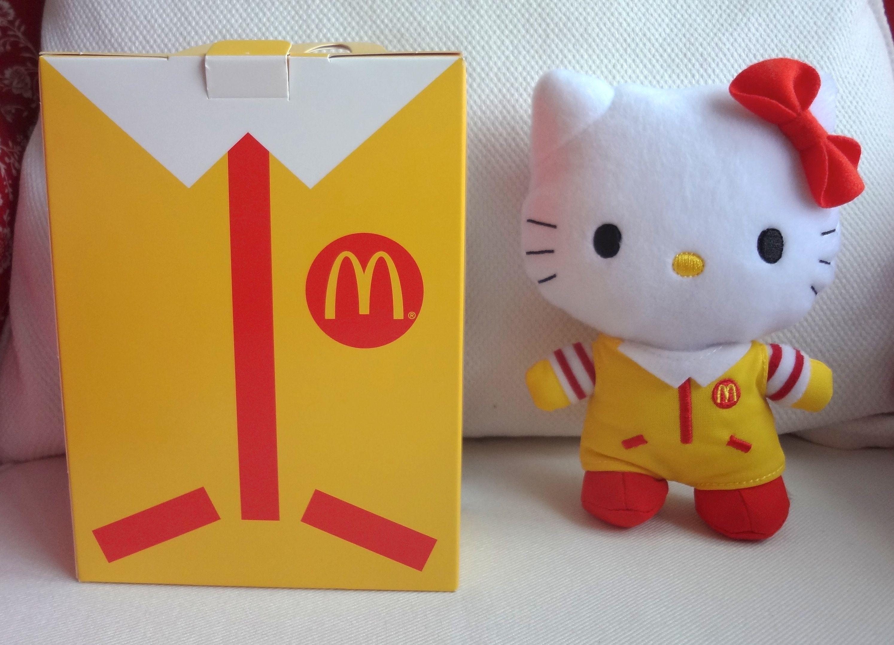 Hello Kitty Mcdonald S Toys : Hello kitty mcdonalds ronald mcdonald g  mcdonalds