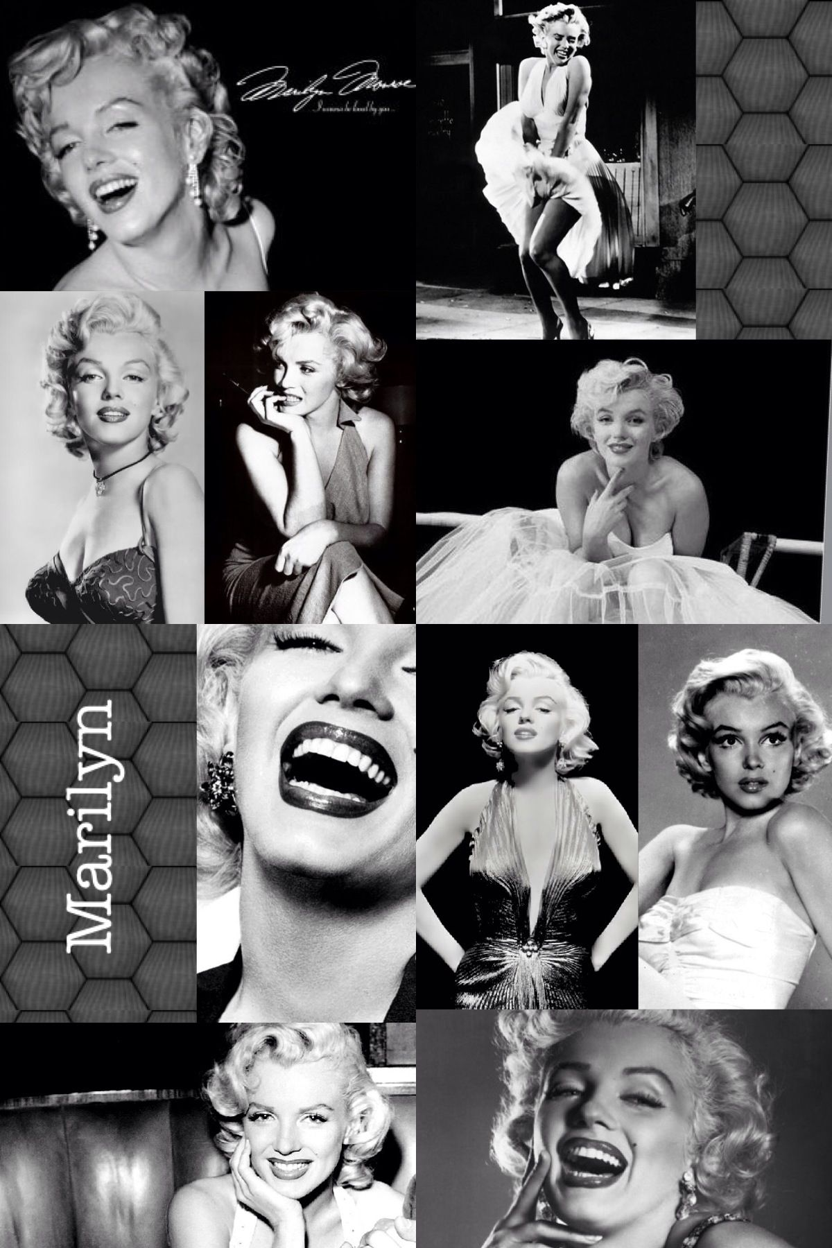 marilyn monroe collage legends pinterest marylin