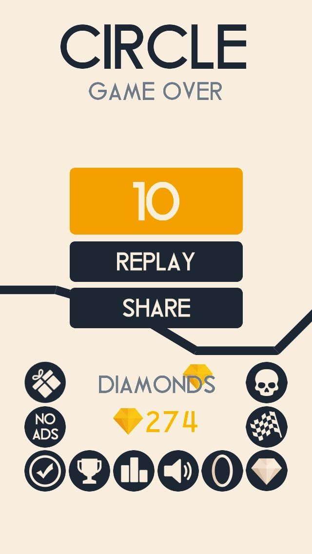 OMG! I got 10 points in Circle circle https//itunes
