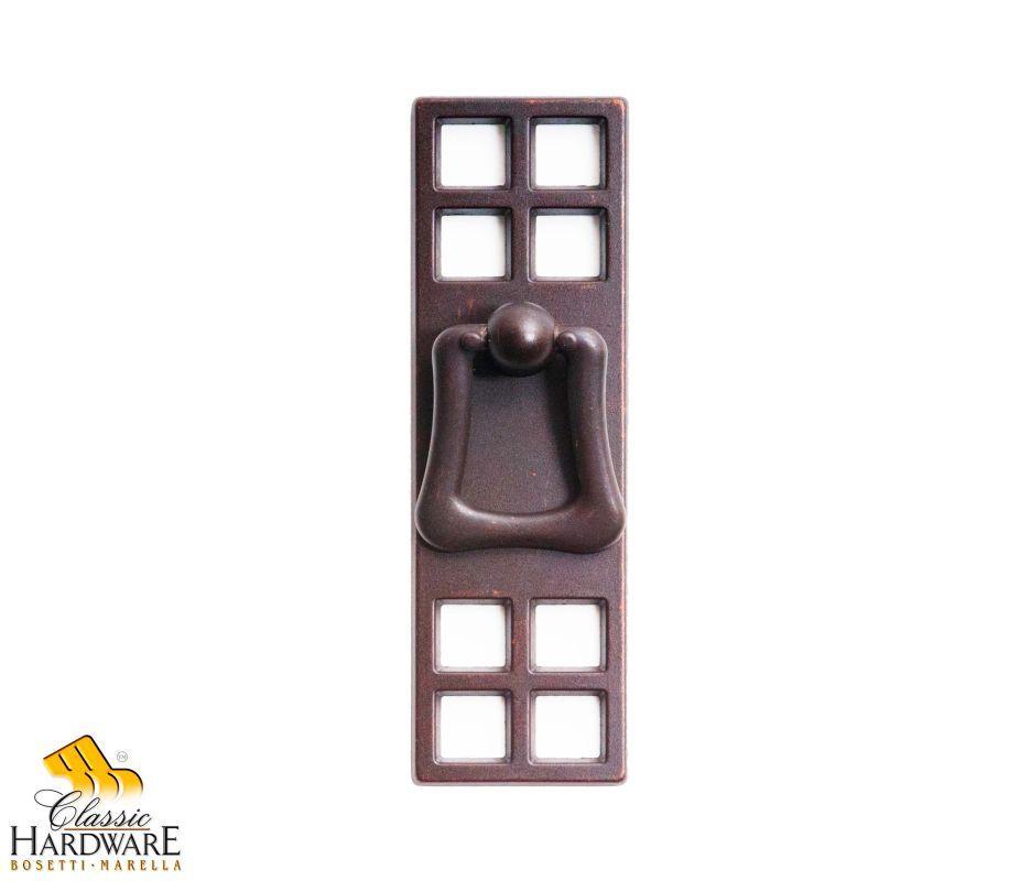 Bosetti Marella 101504 Orient 1-1/8 Inch Diameter Ring Cabinet Pull Oil Rubbed Bronze Cabinet Hardware Pulls Ring