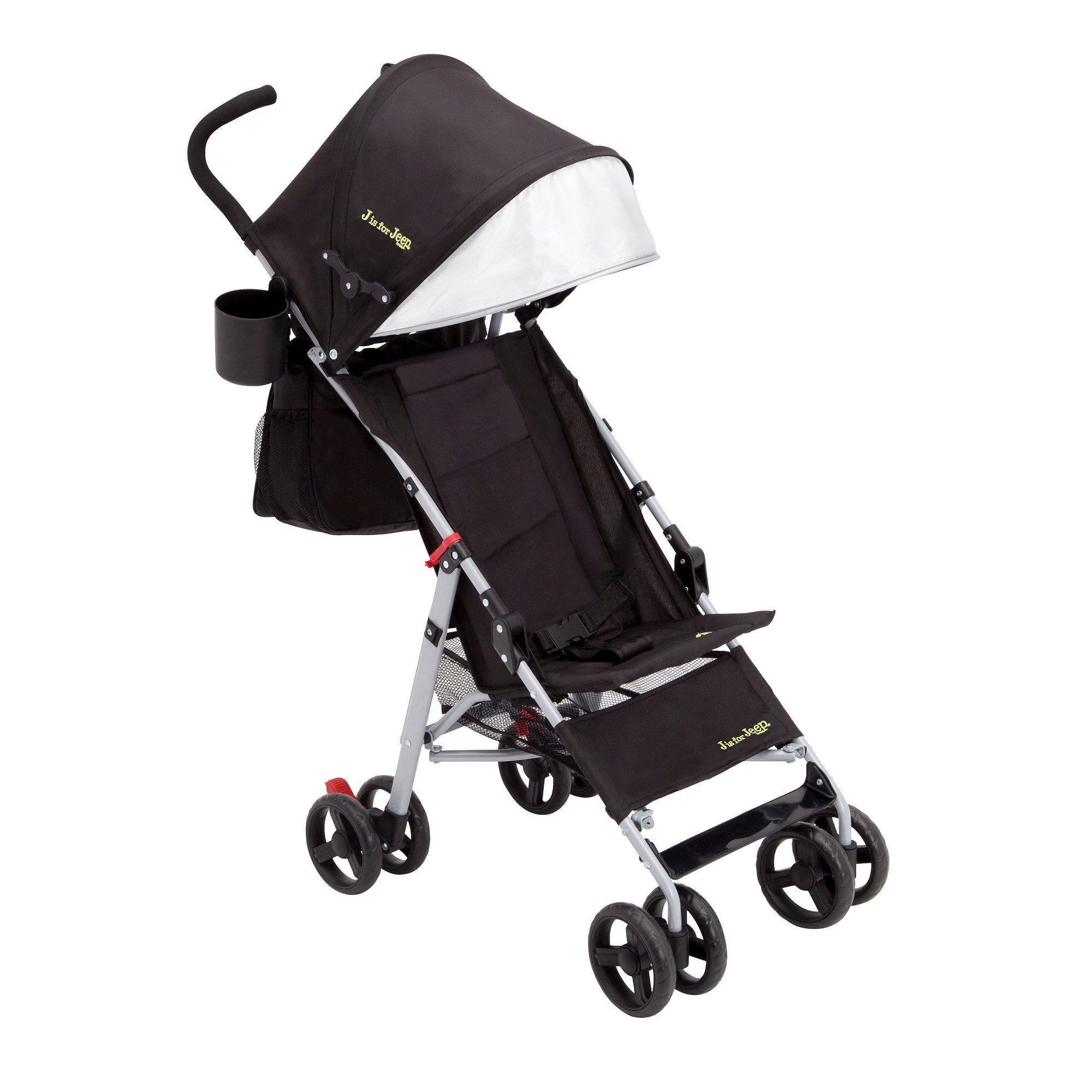 J is for Jeep Brand North Star Stroller Black Jeep