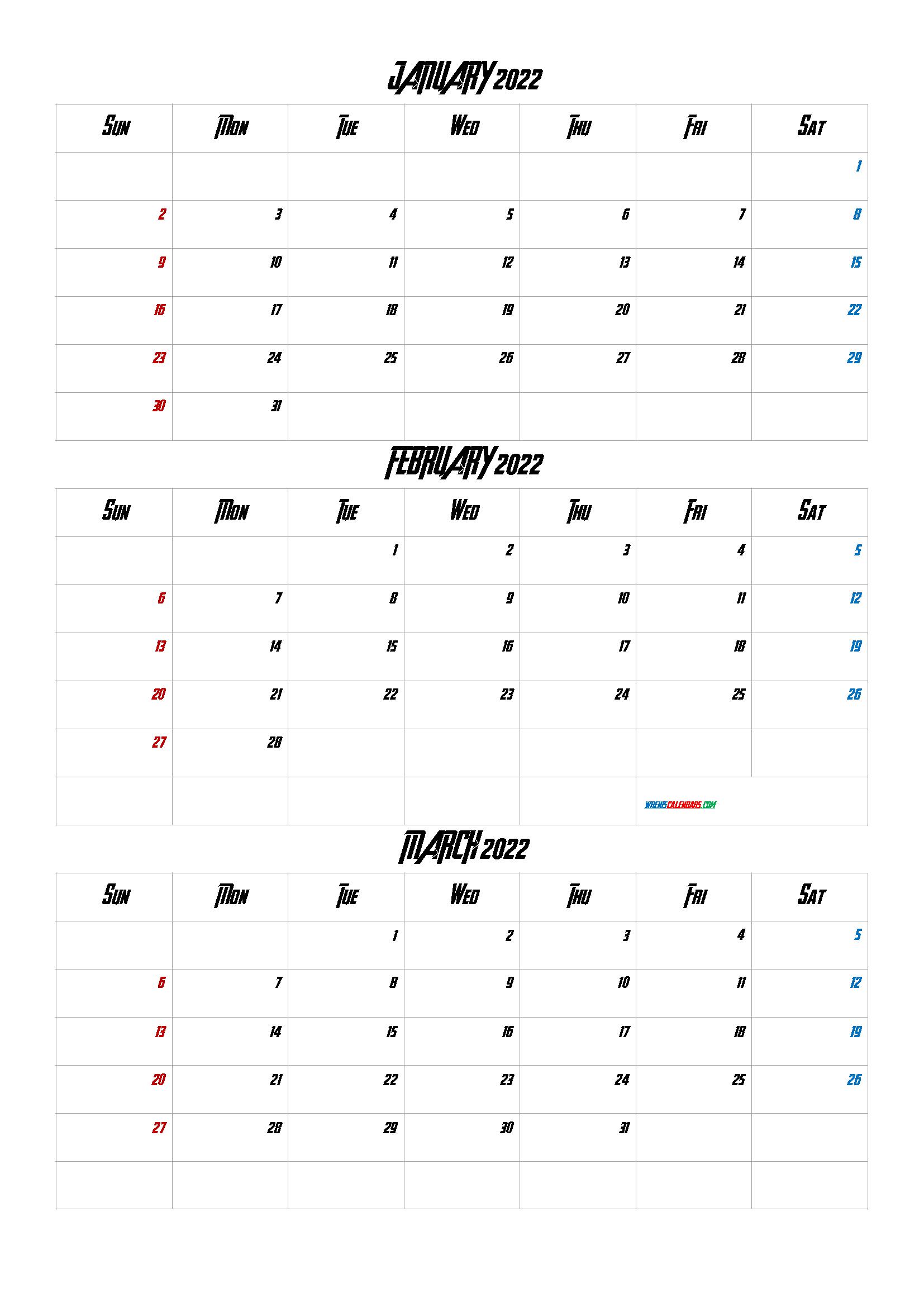 Printable Calendar January February March 2022 Q1 Q2 Q3 Q4 In 2020 January February March Printable Calendar Printable Calendar July