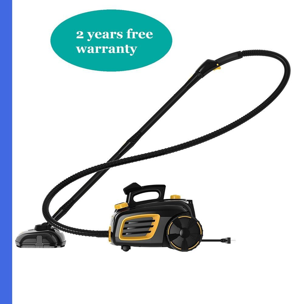 McCulloch MC1275 - Black/Yellow - Canister Vacuum Cleaner #McCulloch