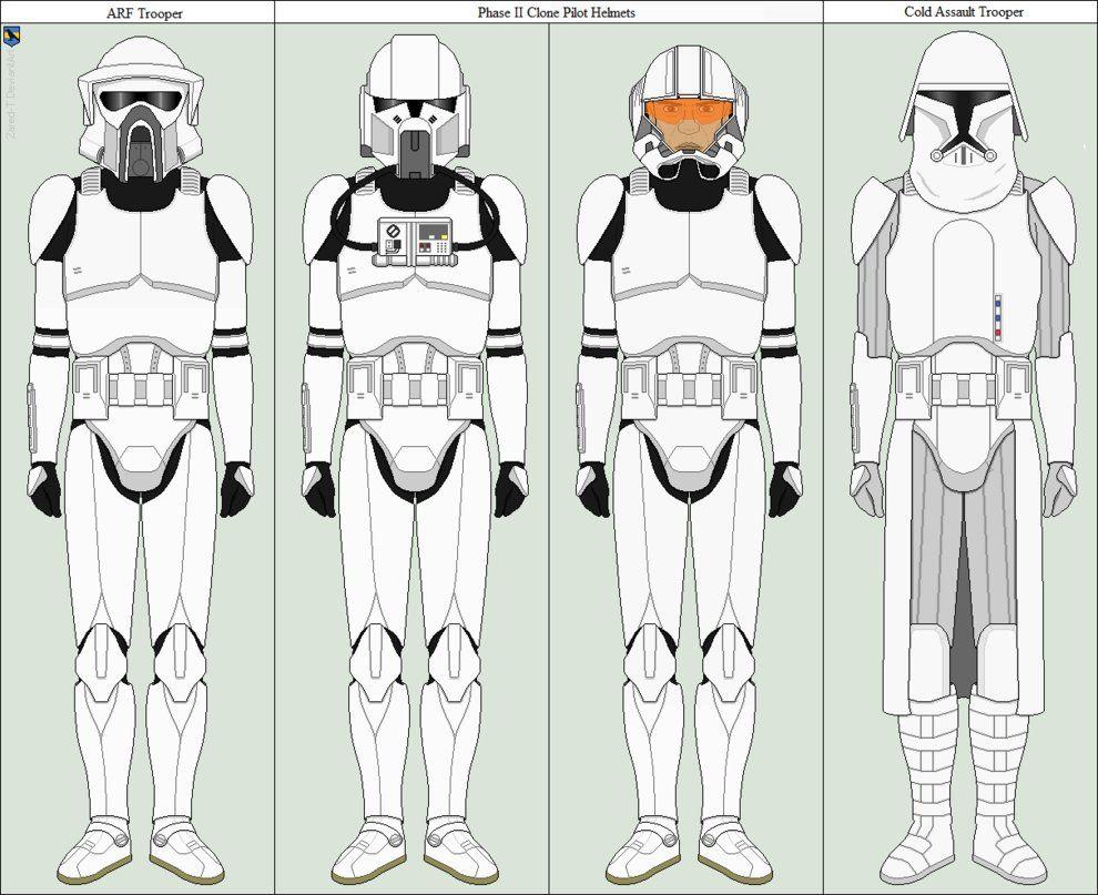 clone variants by zared tregonwell on deviantart star wars