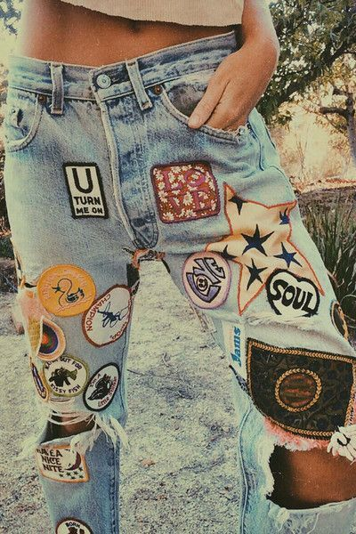 771cdb68dd8a Denim inspo Have you checked out all our patches in-store? There's always a  couple of bins laying around full of patches like these