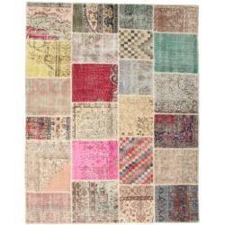 Photo of Patchwork Teppich 198×251 Moderner Teppich