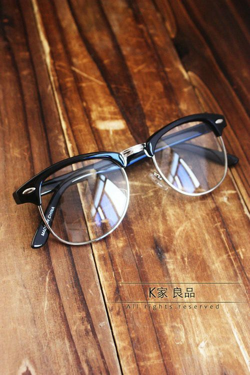 Glasses frame british style fashion metal plain mirror eyeglasses frame myopia k14 on AliExpress.com. $17.43