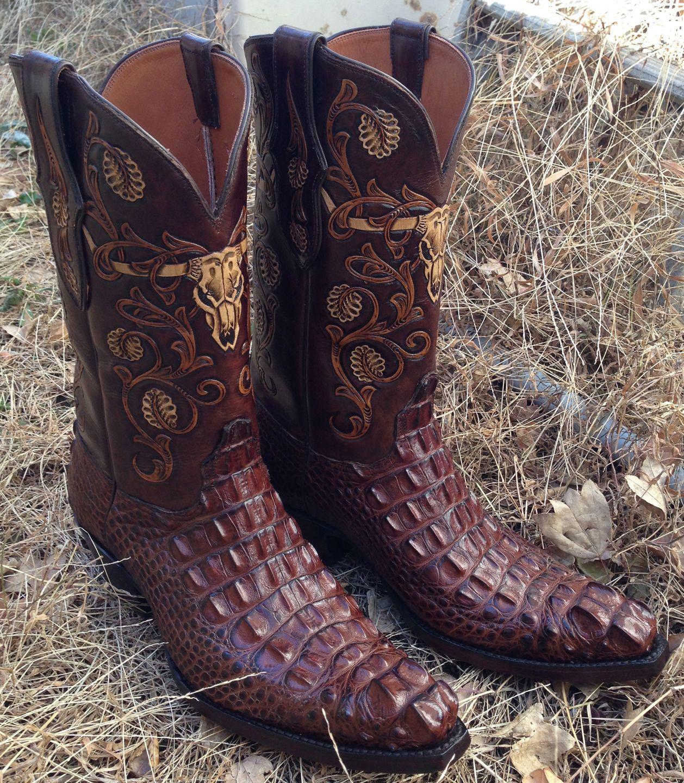 4995df0403b Black Jack Boots Hornback Alligator | Alligator boot ideas in 2019 ...