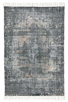 Jotex Harmaa FORMELLO-puuvillamatto 160x230 cm