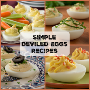 12 Simple Deviled Eggs Recipes