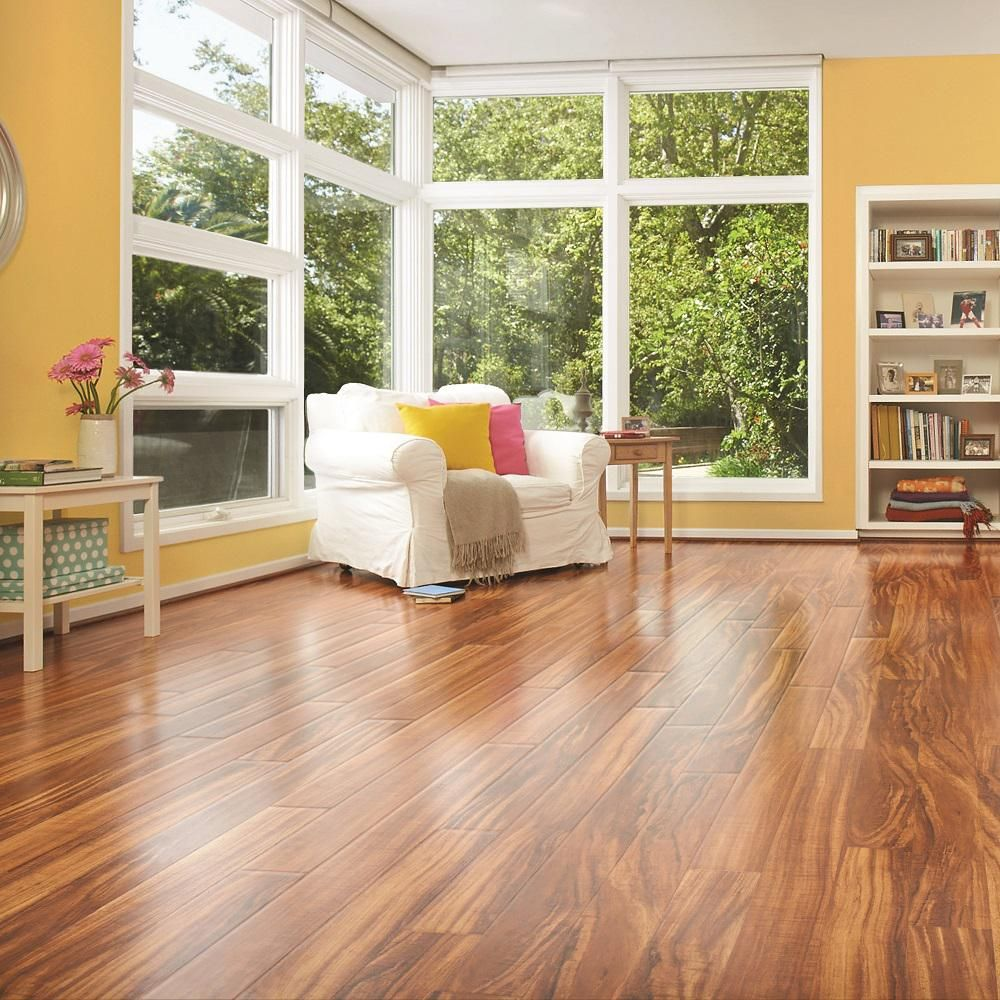 Hawaiian King Koa 10 Mm Thick X 5 23 In Wide X 47 24 In Length Laminate Flooring In 2020 Waterproof Laminate Flooring Pergo Outlast Pergo Laminate Flooring