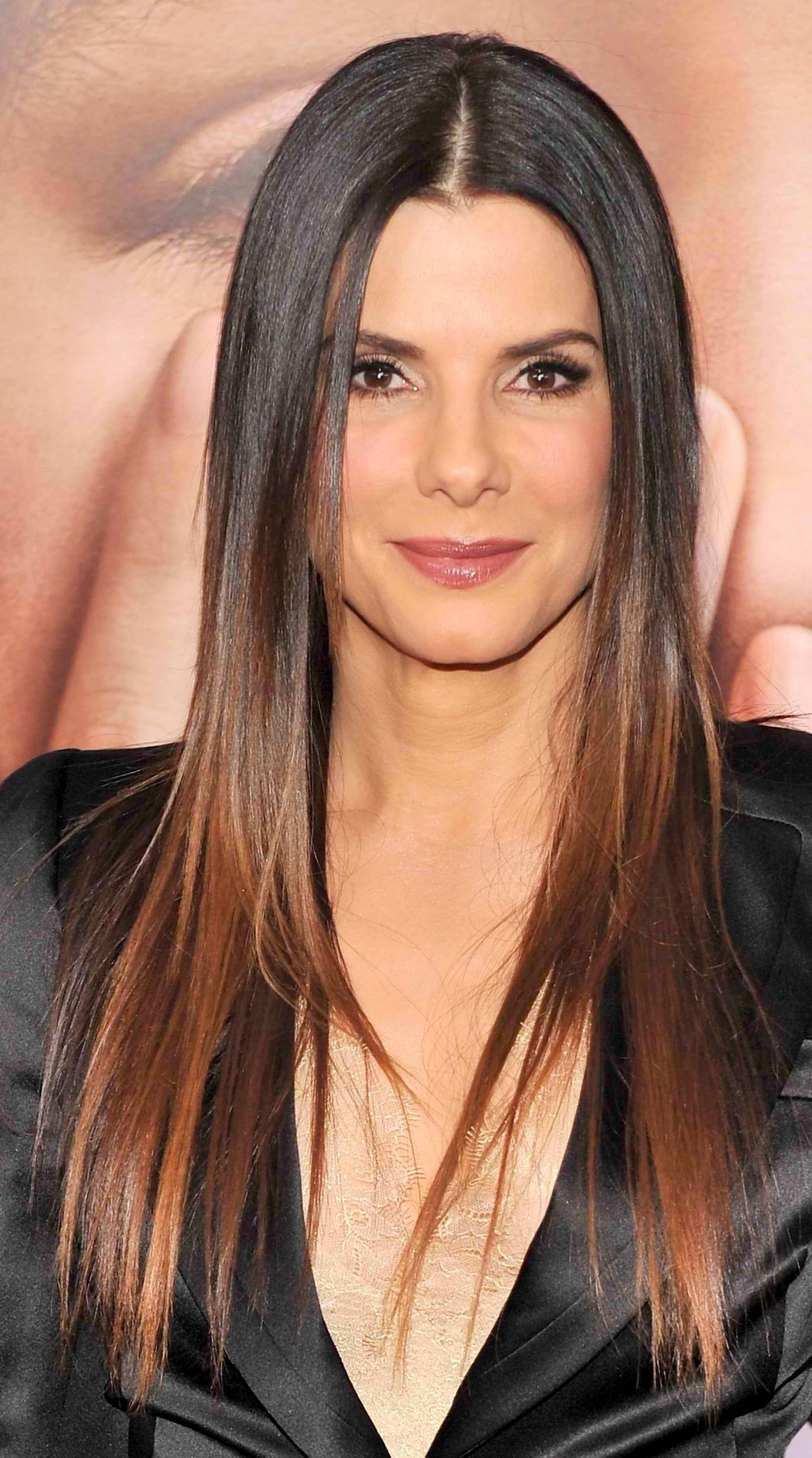 Sandra Bullock Sandra Hair Ombre Hair Hair Styles