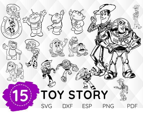 Jessie Svg Vinyl Cutting File Disney Svg Toy Story SVG Decal SVG Instant Download Shirt Design SVG Toy Story Svg