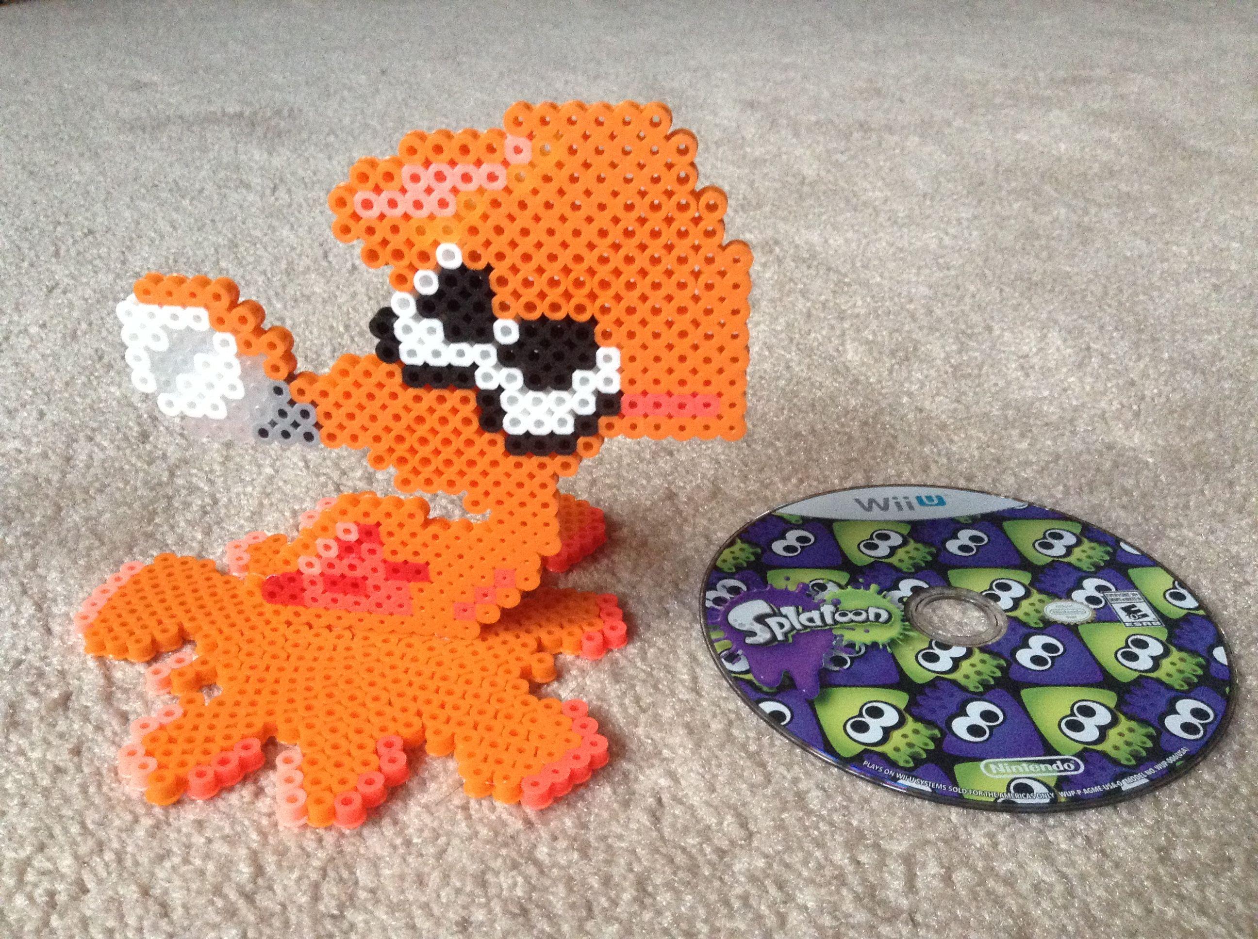 Image Result For Splatoon Perler Patterns Nintendo